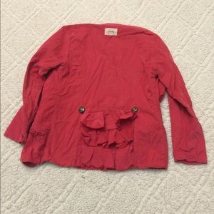 Persnickety Jackets & Coats - Persnickety Pink Corduroy Jacket